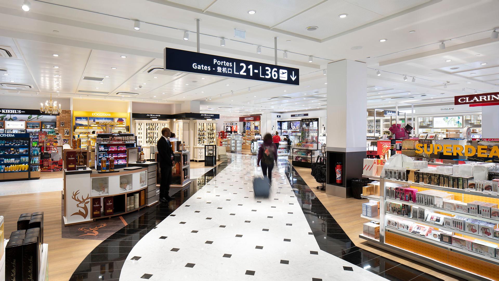 Lagardère Duty Free Store