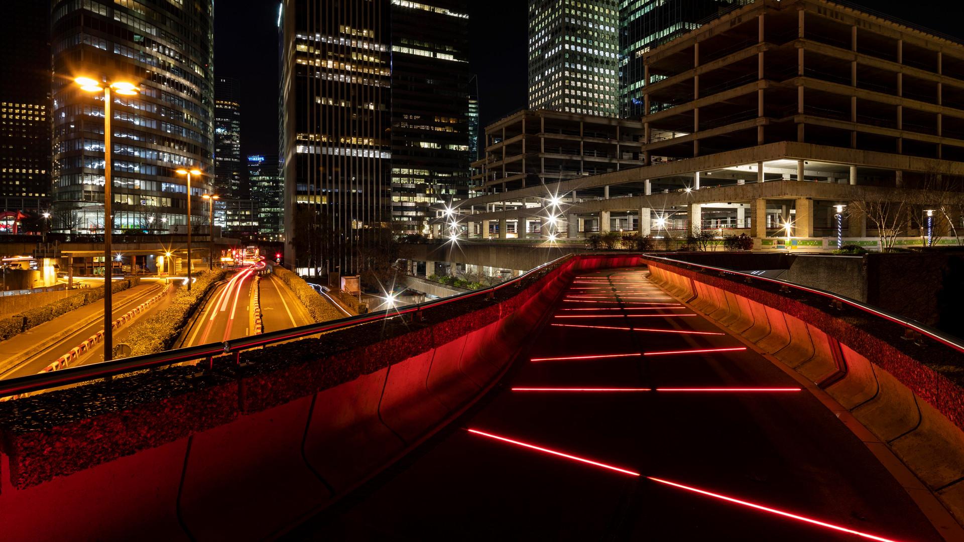 Passerelle Jean Moulin, Paris La Défense - France