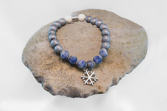 Blue Spot Jasper Aroma Bracelet