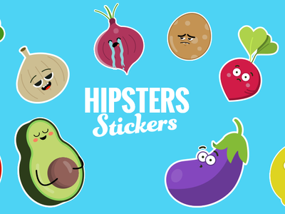 Hipster Stickers