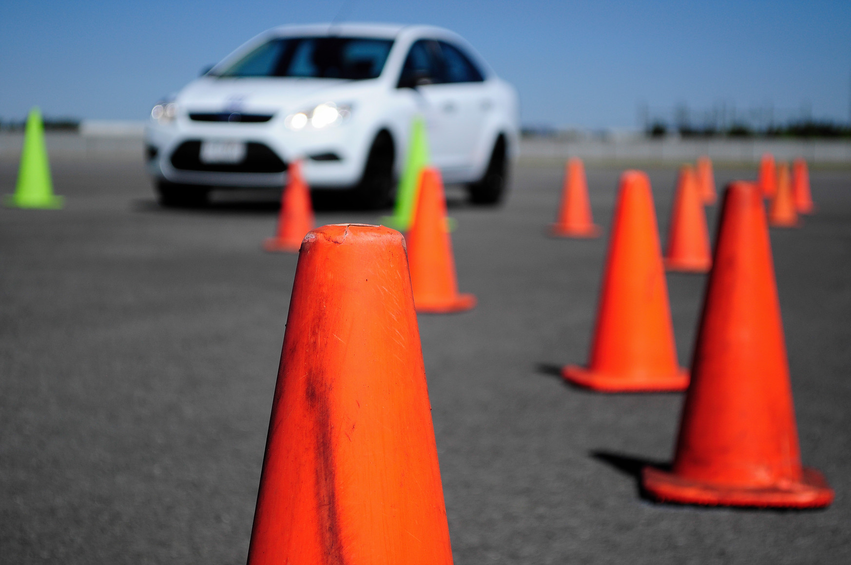 Rental car for road test