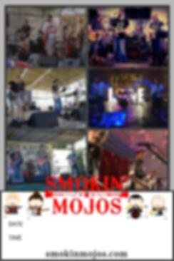 Smokin' Mojos Gig Poster