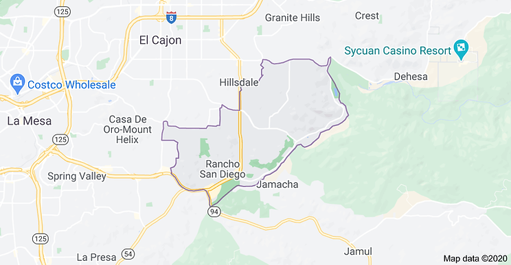 Rancho San Diego Map.png