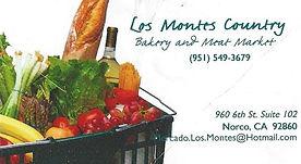 Los Montes Sponsor 2017 Norco Horseweek