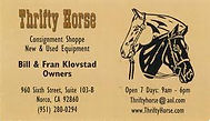 Norco Horseweek, Sponsor, Thrifty Horse