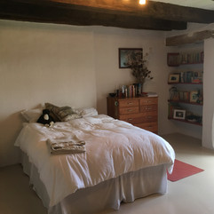 One of the six bedrooms