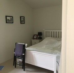 The double bedroom in the gite