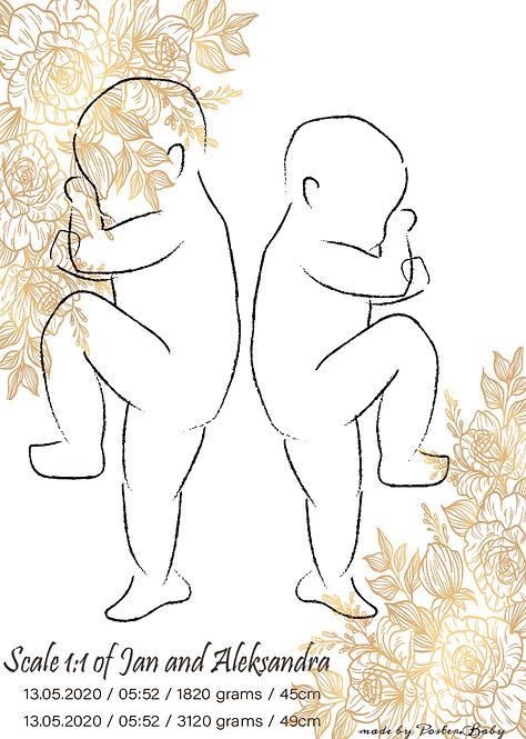 Digital Version - Duo Sketch #2