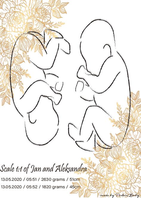 Digital Version - Duo Sketch #1