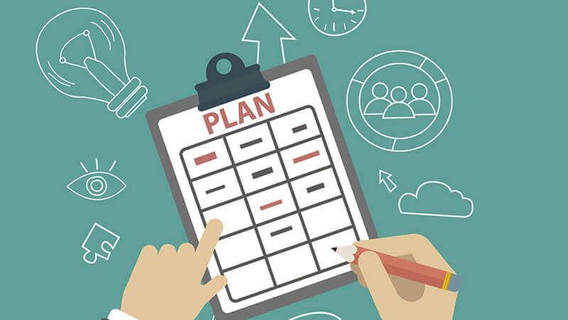 Fazendo o planejamento