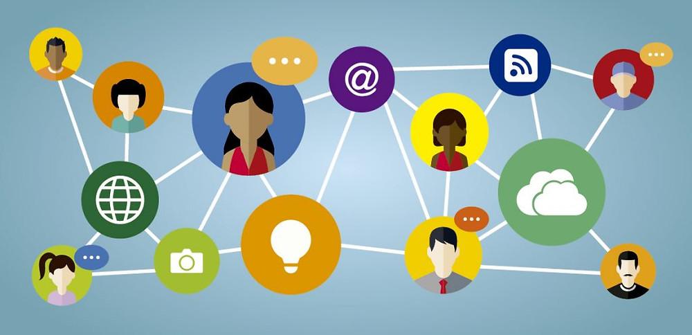 Uma rede de comunicação empresarial