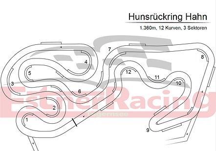 Streckenplan Hunsrückring Hahn
