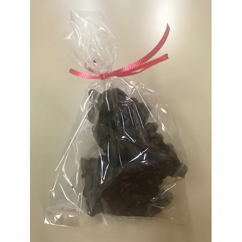 Dark Chocolate Peanut Clusters