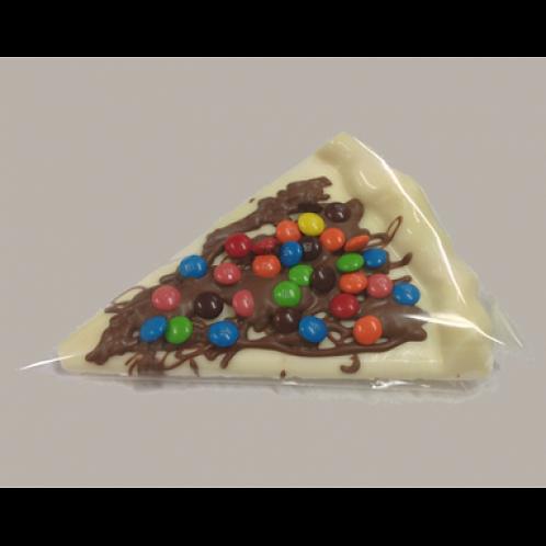 Mini Chocolate Pizza Slice