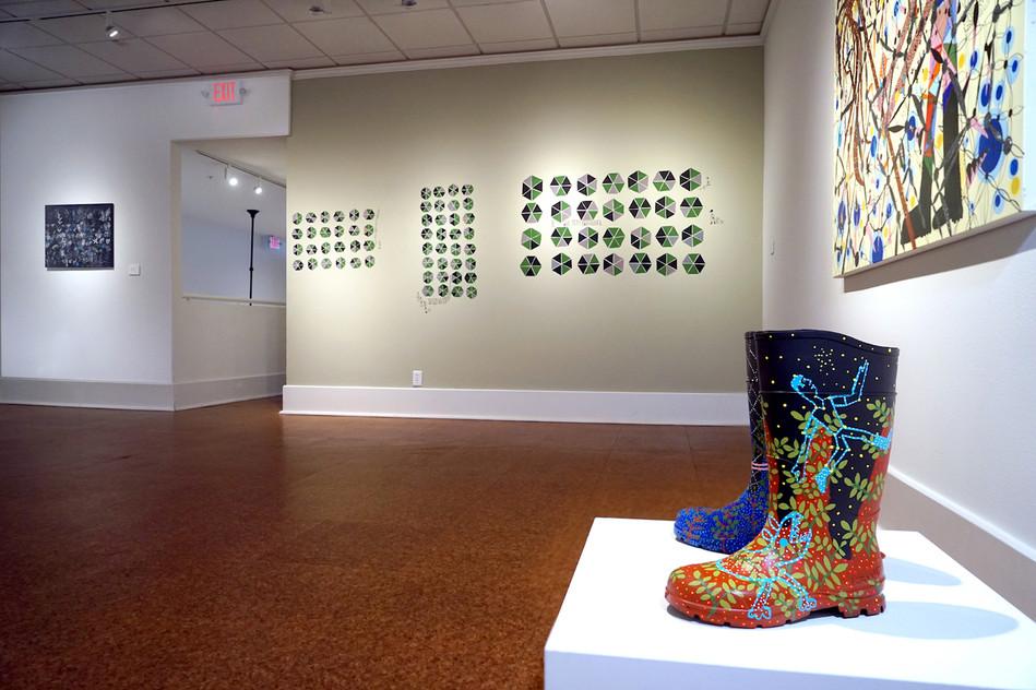 "View of ""Undercover,"" Galveston Arts Center"