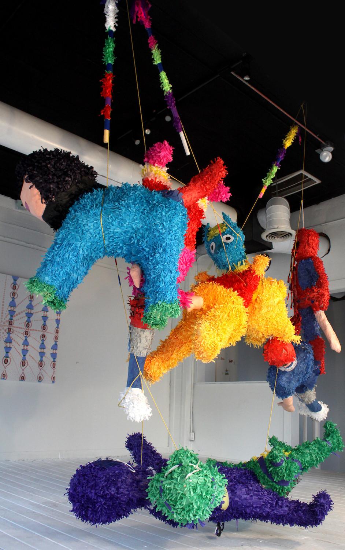 Piñatas Installation View 3