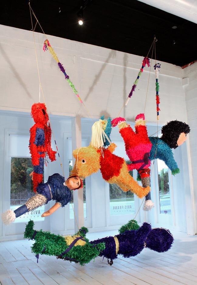 Piñatas Installation View 2