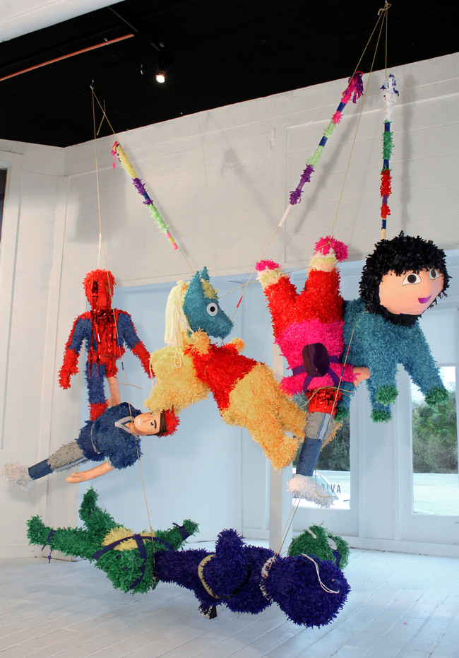 Piñatas Installation View 1