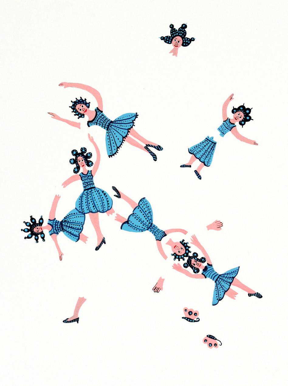 Blue Dance