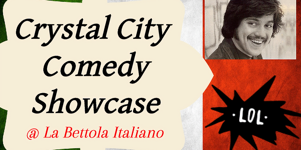 12/12 - Crystal City Comedy Showcase