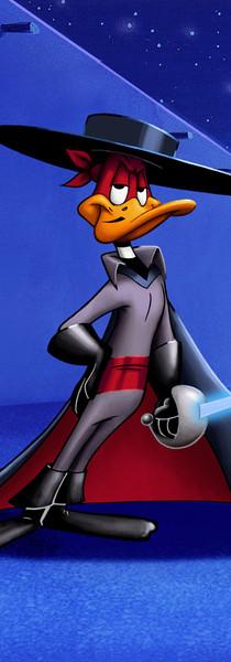 Daffy as Zorro