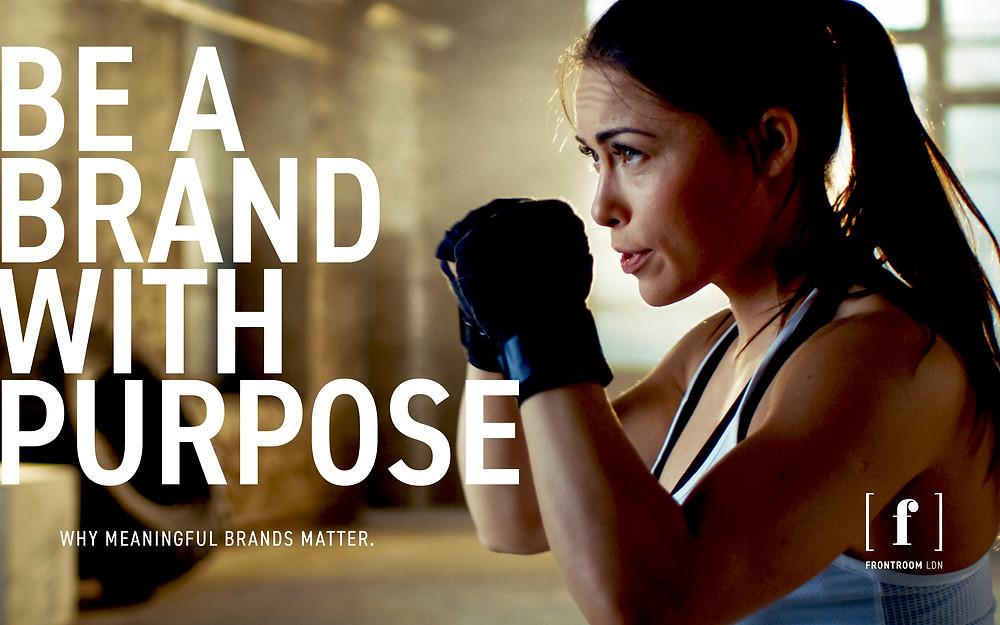 A brand with purpose – female boxer