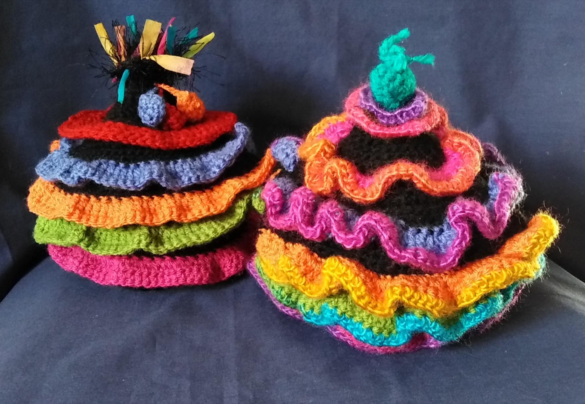 frilly tea cosies