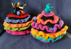 frilly tea cosies