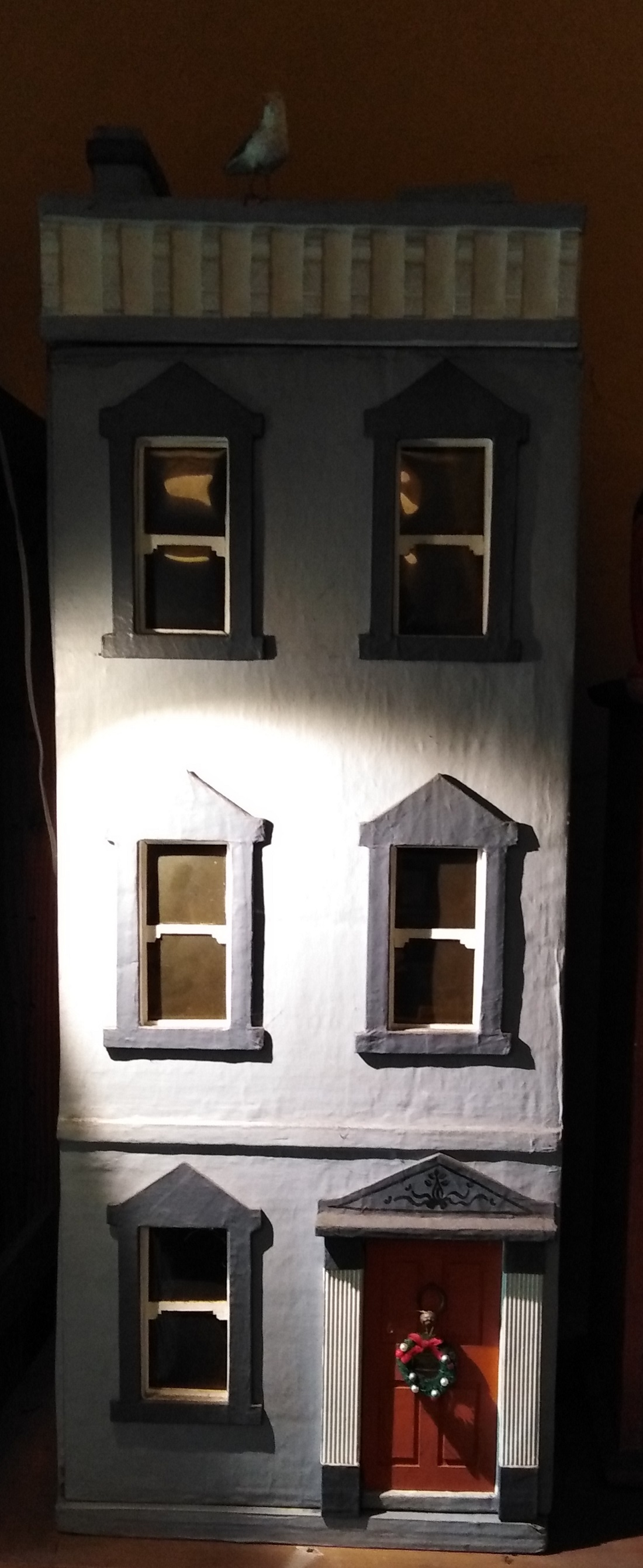 face of dolls house