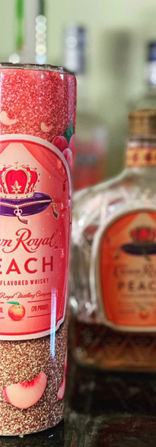 Peach tumbler
