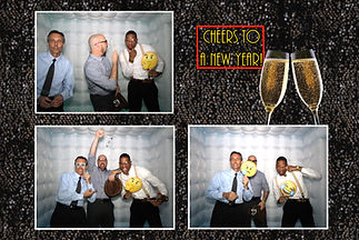 new years photo booth