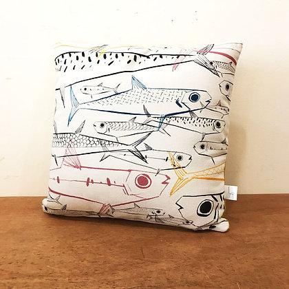 Coussin Banc de sardines