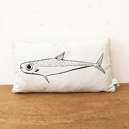 Coussin Portrait de sardine