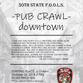 50th State F.O.O.L.S - Pub Crawl Downtown