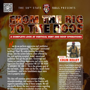 FROM THE RIG TO THE ROOF - W/ Colin Kelley