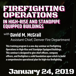 FIREFIGHTING OPERATIONS IN HIGH-RISE AND STANDPIPE EQUIPPED BUILDINGS