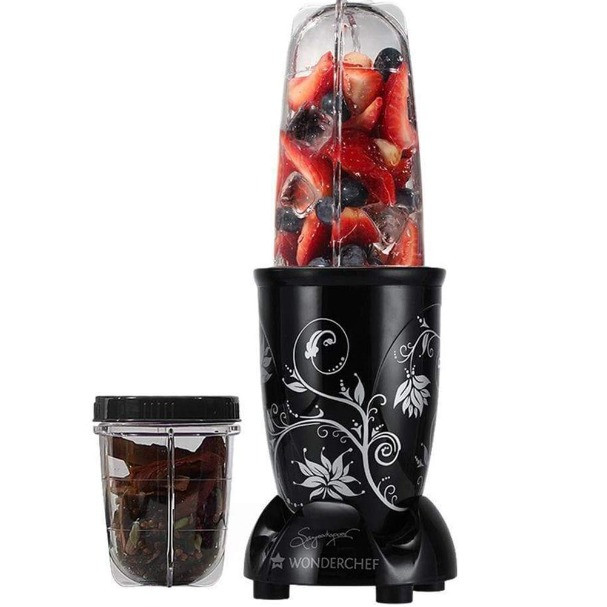 Nutri-Blend Blender with SS Blades and 2 Unbreakable Jars