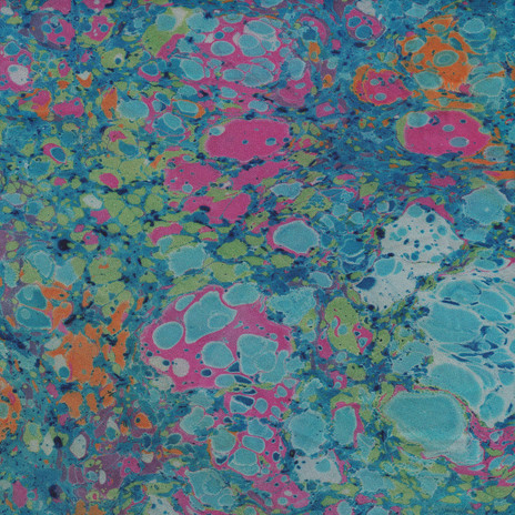 Ebru / Marbled Fabric