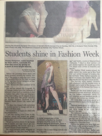 KC Fashion Week 2012 Article