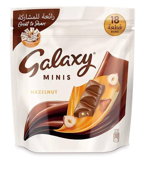 Galaxy mini chocolate hazelnut