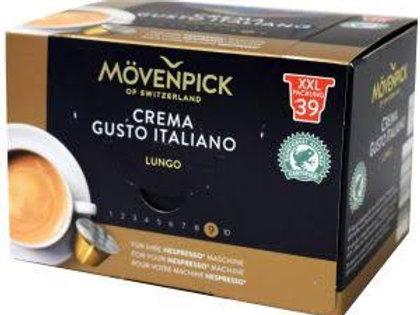 Mövenpick crema gusto italiano coffe lungo
