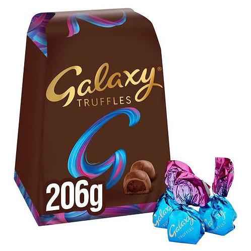 Galaxy milk chocolate truffles