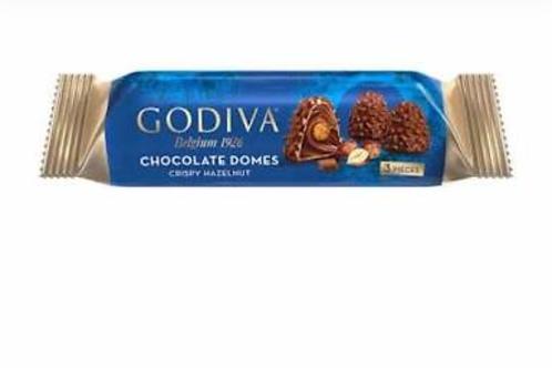 Godiva chocolate domes creamy hazelnut