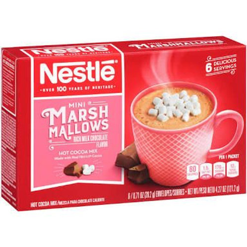 Nestle marsh mallows hot cocoa mix