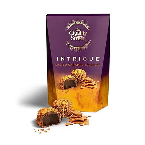 Quality street Intrigue salted caramel truffles