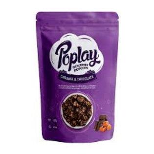Poplay Popcorn Caramel & Chocolate