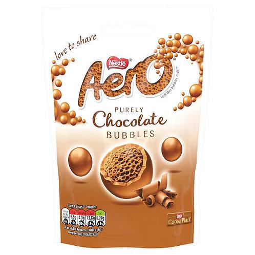 Aero chocolate bubbles bag