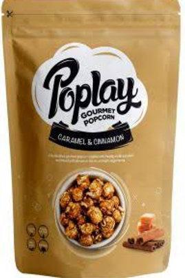 Poplay Popcorn caramel & cinnamon