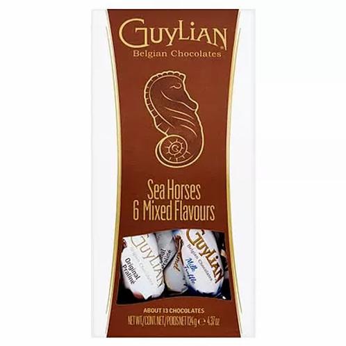 Guylian seahorse 6 mixed flavors box 124 g