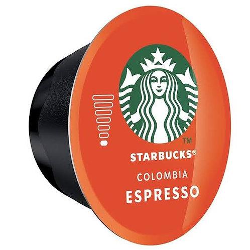 Starbucks espresso colombia dolce gusto capsule